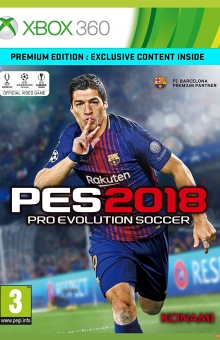 PES 2018 XBOX RGH (FULL PATCH)