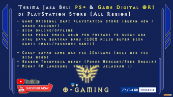 JASA BELI GAME PSN PS4