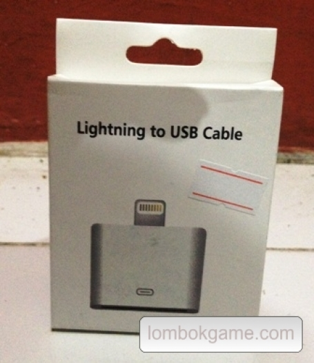 Lighting to USB Cable